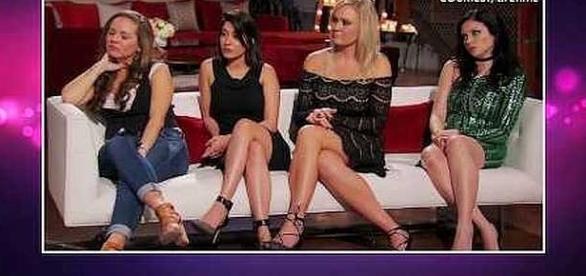 Women confront David Norton during Reunion Special [Image: KineticContentTV/YouTube screenshot]