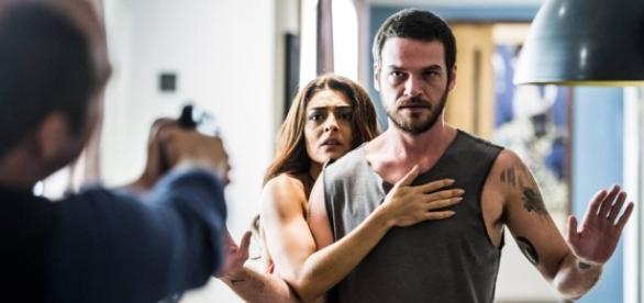 """""""A força do querer"""": Rubinho trai Bibi com periguete e ela se vinga do ex-amor. Ela assumira o tráfico no morro"""
