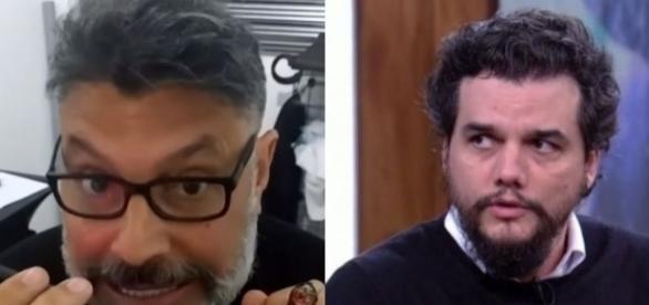 Alexandre Frota recebe palavrão por brincadeira com Lula