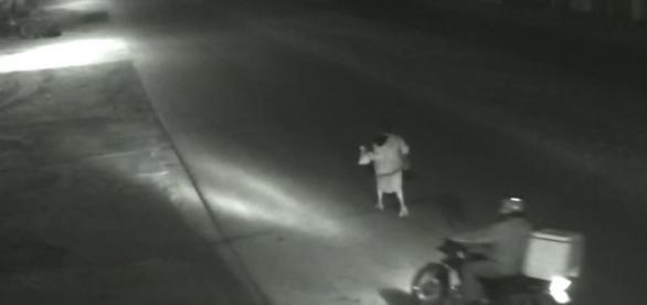 Polícia procura suspeito de estuprar e matar idosa em Goiás. (Imagens/Reprodução:G1)