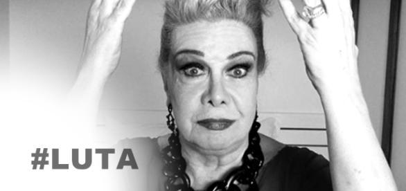 Rogéria tem piora em estado de saúde - Google