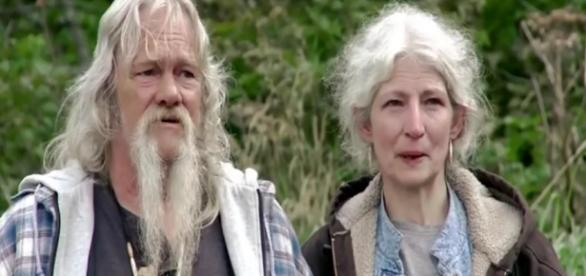 Alaskan Bush People' Screenshot with Ami and Billy