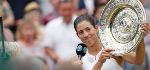 Garbiñe Muguruza se convirtió en la primera española en ganar en dos Grand Slam distintos. AS.com.