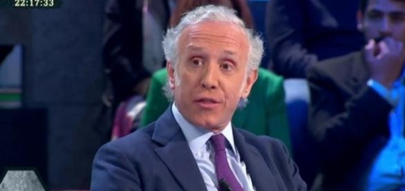 Eduardo Inda durante una tertulia televisiva
