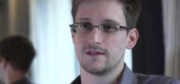 NSA whistleblower Edward Snowden in one media interview with him. (Image - YouTube-Kevin - M. Gallagher)