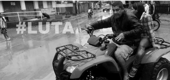 Zeca Pagodinho sofre acidente de quadriciclo