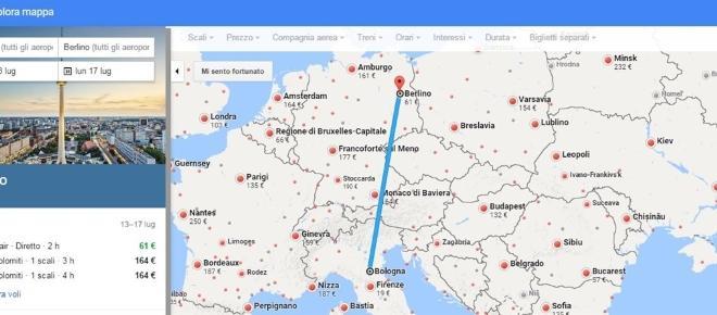 La mappa dei viaggi aerei più economici per l'estate 2017