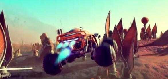A closed beta for 'No Man's Sky' Update 1.3 will likely transpire on July 21. Hello Games/YouTube