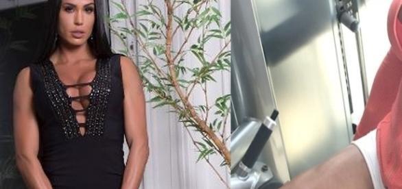 A musa Gracyanne Barbosa mantém uma rotina pesada de exercícios e dieta (Foto: Reprodução/Instagram)