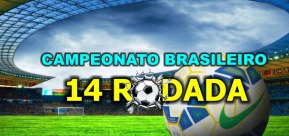 Classificação no Campeonato Brasileiro, na 14ª rodada