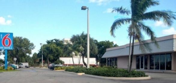 Incidente aconteceu no Motel 6, em Miami