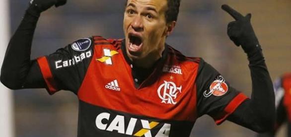 Leandro Damião esteve em campo na última partida do Flamengo