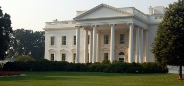 North lawn of the White House. / [Image by Rob Young via Flickr, CC BY 2.0]