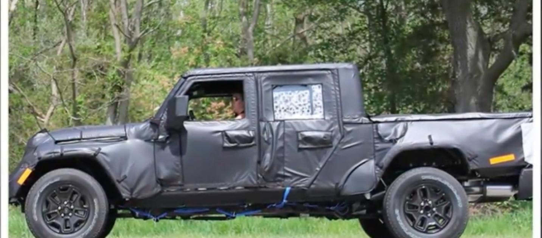 2019 jeep wrangler pickup everything a pickup truck should be. Black Bedroom Furniture Sets. Home Design Ideas