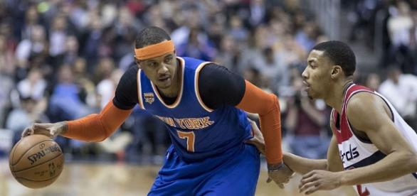 Could Carmelo Anthony end up playing for Portland rather than Cleveland or Houston? [Image via Wikimedia Commons]