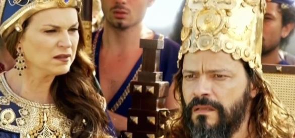 O rei Nabucodonosor irá decidir o que fazer com Joaquim (Foto: Reprodução)