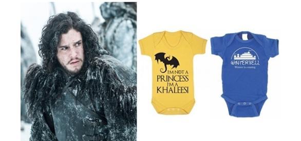 Roupinhas de bebês para pais que amam ''Game of Thrones''