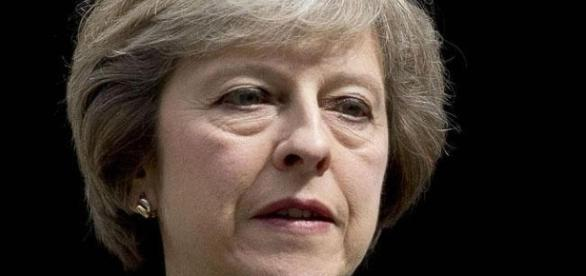 The strains on Theresa May's face are beginning to show - Flickr