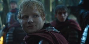 Ed Sheeran apareceu no primeiro episódio da sétima temporada de ''Game of Thrones''. Foto: Reprodução/HBO.
