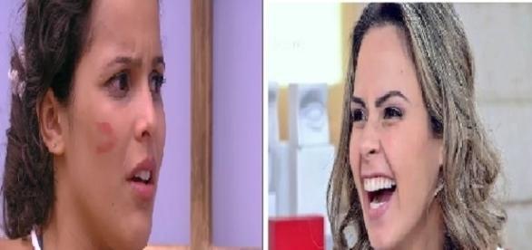 Ana Paula faz duras críticas a Emilly Araújo (Foto: Reprodução/ Montagem)