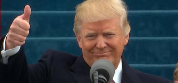 Donald Trump, screen grab via Youtube