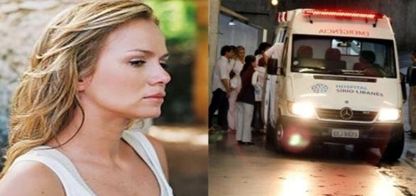 Eliana dá entrada em hospital nesta segunda-feira (17) (Foto: Reprodução/ Montagem)