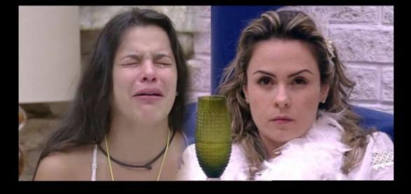 No 'Super Pop', Ana Paula Renault critica a ex-BBB Emilly Araújo (Foto: Reprodução/ Montagem)