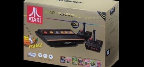 The Atari Flashback 8 Gold   credit, AtGames Flashback Zone, YouTube