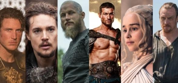 ''The Last Kingdom'', ''Vikings'' e ''Game of Thrones'' fazem parte dessa lista