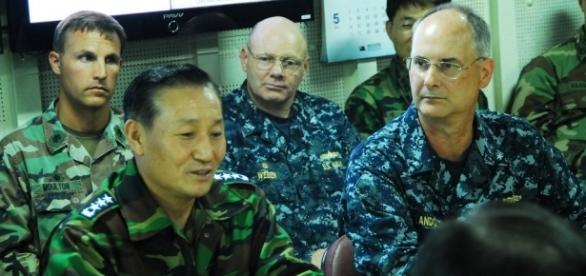 U.S. and South Korean military, 2010. / [Image by Lt. Cmdr. Denver Applehans, Expert Infantry via Flickr, CC BY 2.0]