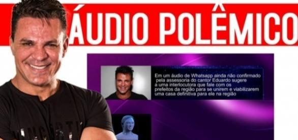 Eduardo Costa aparece em áudio comprometedor (Foto: Reprodução)
