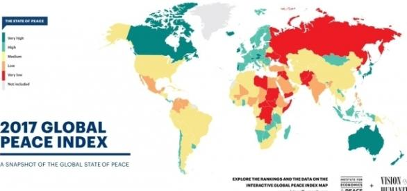 "Global Peace Index on Twitter: ""Global levels of peacefulness ... - twitter.com"