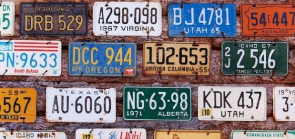Numerologia das placas dos carros. ( Imagem: Google)