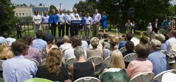 Top Democrats gather in Virginia to try and convince voters they have a message. (You Tube Video capture)