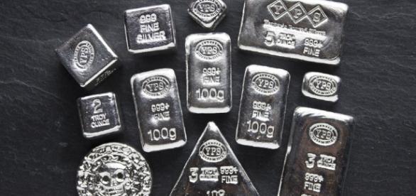 As variações da prata neste ano (Foto: Reprodução)