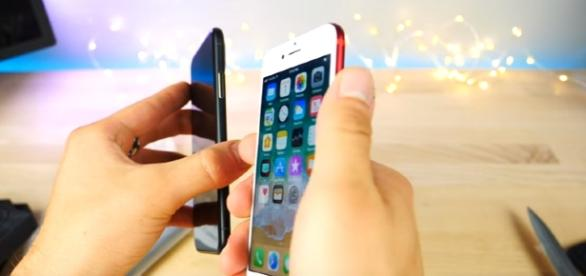 iPhone 8 - Hands On With Prototype & Case! Image credit Everything Apple Pro Youtube