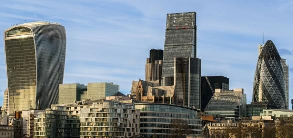 The skyline of London, epicentre of many recent developments