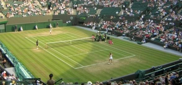 Wimbledon Court (Wikimedia Commons - wikimedia.org)
