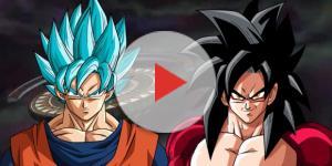 El verdadero poder del Blue y el Super Saiyajin 4