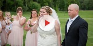 História da noiva que reservou cadeira para filho morto emociona internautas em todo o mundo