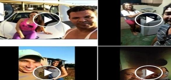 Brasileiros criam vídeos sobre presente de cantor