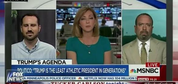 Chris Jansing (middle), Ben Krauss (left) screengrab via Youtube (https://www.youtube.com/watch?v=XBLqT3sGsT0)