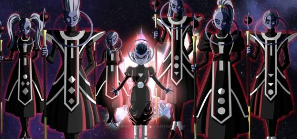 Daishinkan e os anjos malignos. ( Imagem: Google)