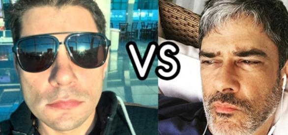 Evaristo Costa e William Bonner são grandes nomes da Globo - Google