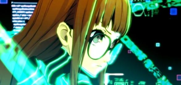 "Futaba Sakura acts as the navi in ""Persona 5"" (image source: YouTube/atlustube)"