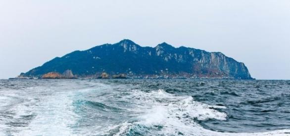 Okinoshima. Foto cortesía de Okinoshima Heritage.