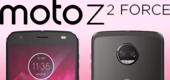 The Moto Z2 Force is the second installment from the Moto Z line of handsets. (via JustGotTech/Youtube)