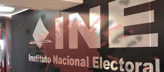 El INE: sin calidad moral para la campaña presidencial 2018