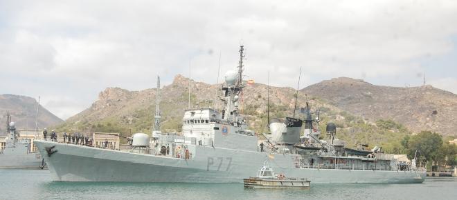 El 'Infanta Cristina' a Guinea. La lucha contra la piratería continua