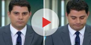 Evaristo Costa não quer renovar o contrato com a Globo. (Foto: Reprodução)
